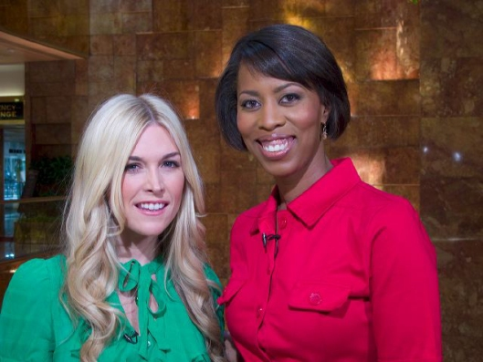 Celebrity Interior Designer and Emmy Award Winning TV Personality Cathy Hobbs with Manhattan Socialite Tinsley Mortimer