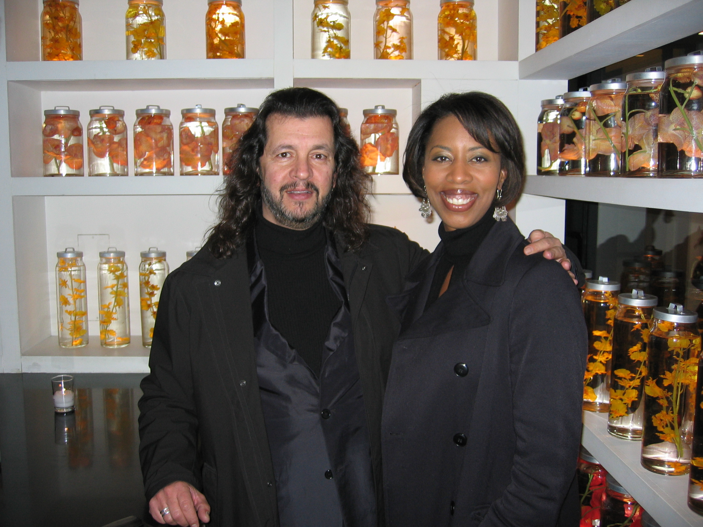 Interior Designers Cathy Hobbs and Andres Escobar