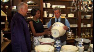 Celebrity Interior Designer Cathy Hobbs goes antique shopping