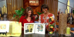 INTERIOR DESIGNER CATHY HOBBS ON THE PIX MORNING NEWS
