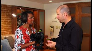Interior Designer Cathy Hobbs with Photographer Scott G. Morris