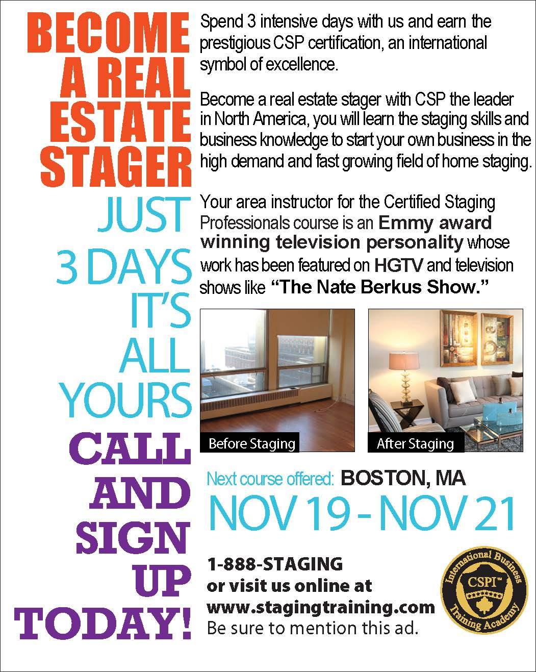 how to become a home stager in virginia
