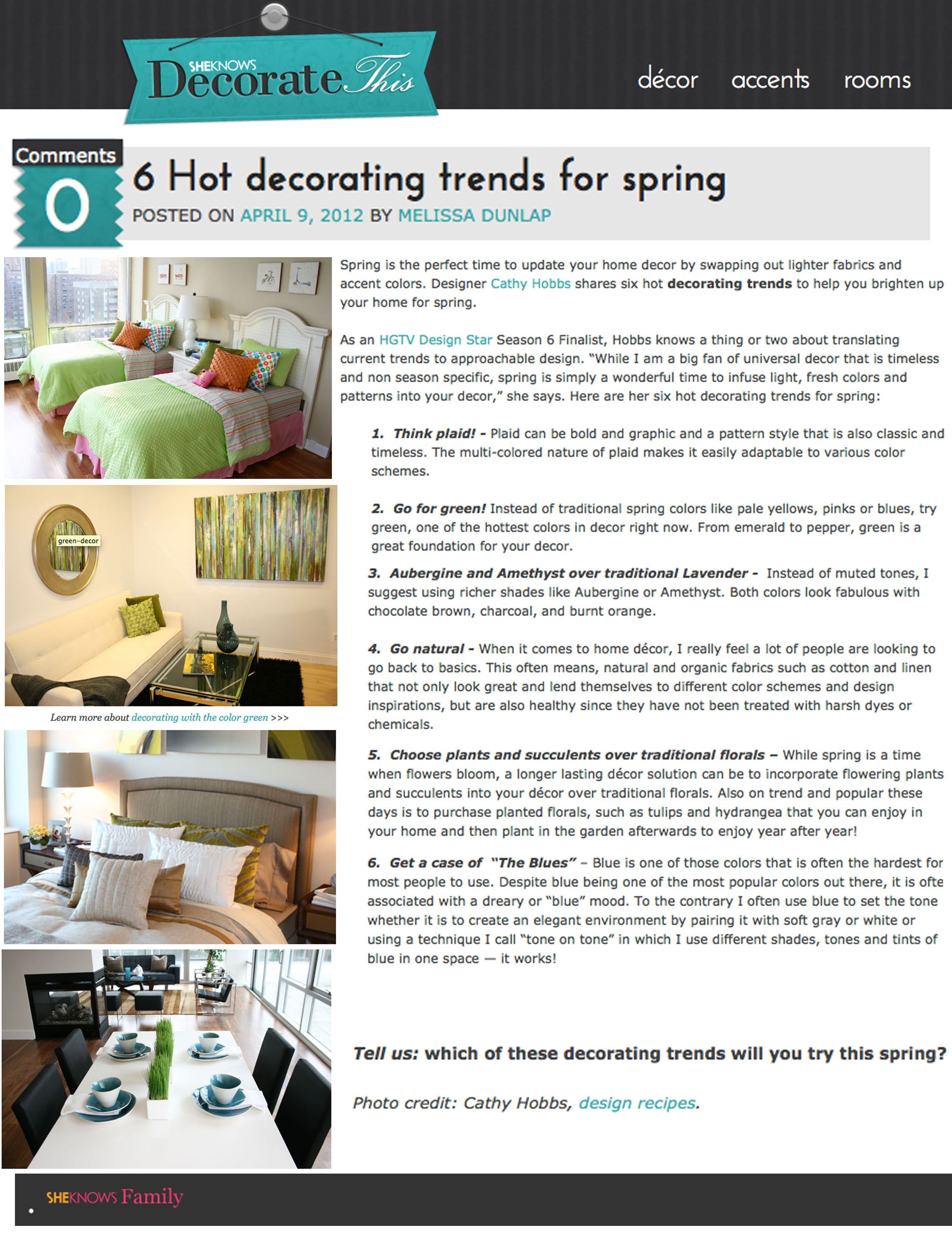 Spring Design Ideas Looking For Spring Design Ideas From