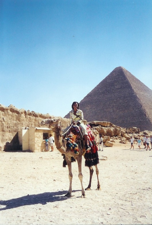 Interior Designer Cathy Hobbs in Cairo, Egypt