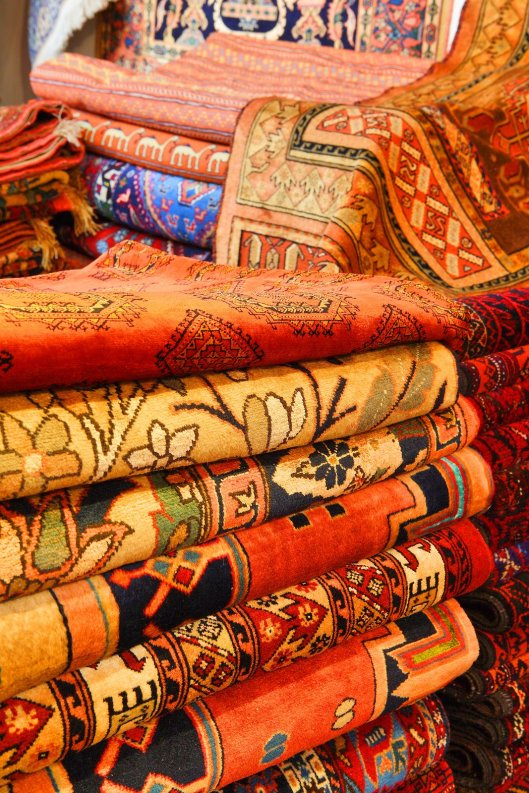 Finding quality rugs won't be a challenge, as rugs are in abundance. Just know what you are looking for and go armed with a basic knowledge of rugs.