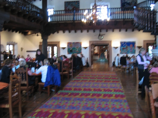 The Restaurant Interior