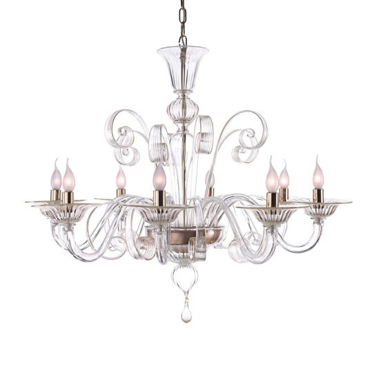 An example of a classic Venetian chandelier