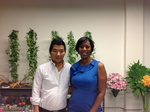 Interior Designer Cathy Hobbs and Master Florist Kenji Takenaka