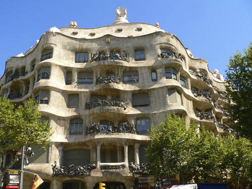 Antoni Gaudi's Casa Mila.. Look familiar?