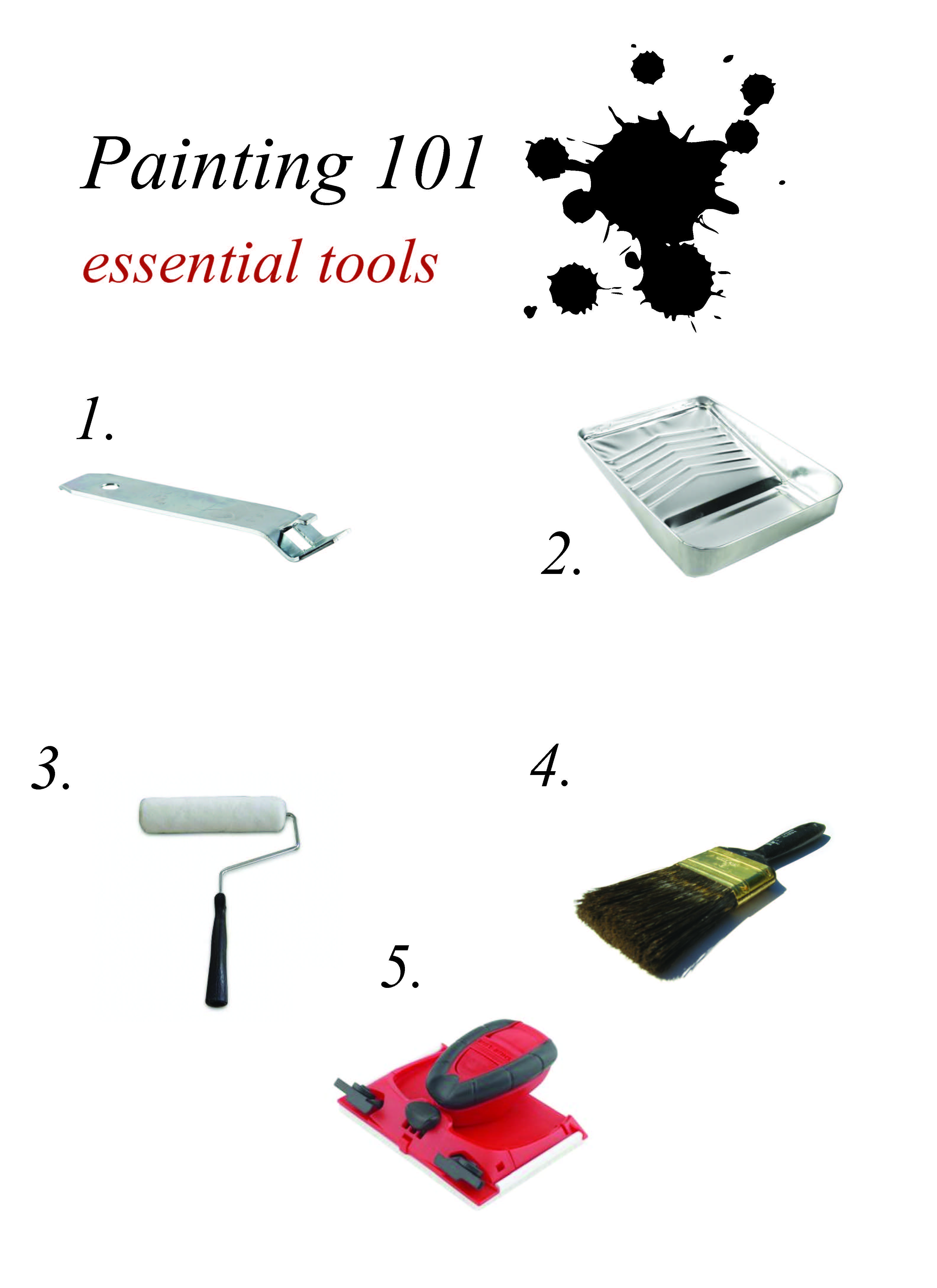 Essential Tools For Your Makeup Bag: Cathy's Tuesday Tip: Painting 101 Essential Tools